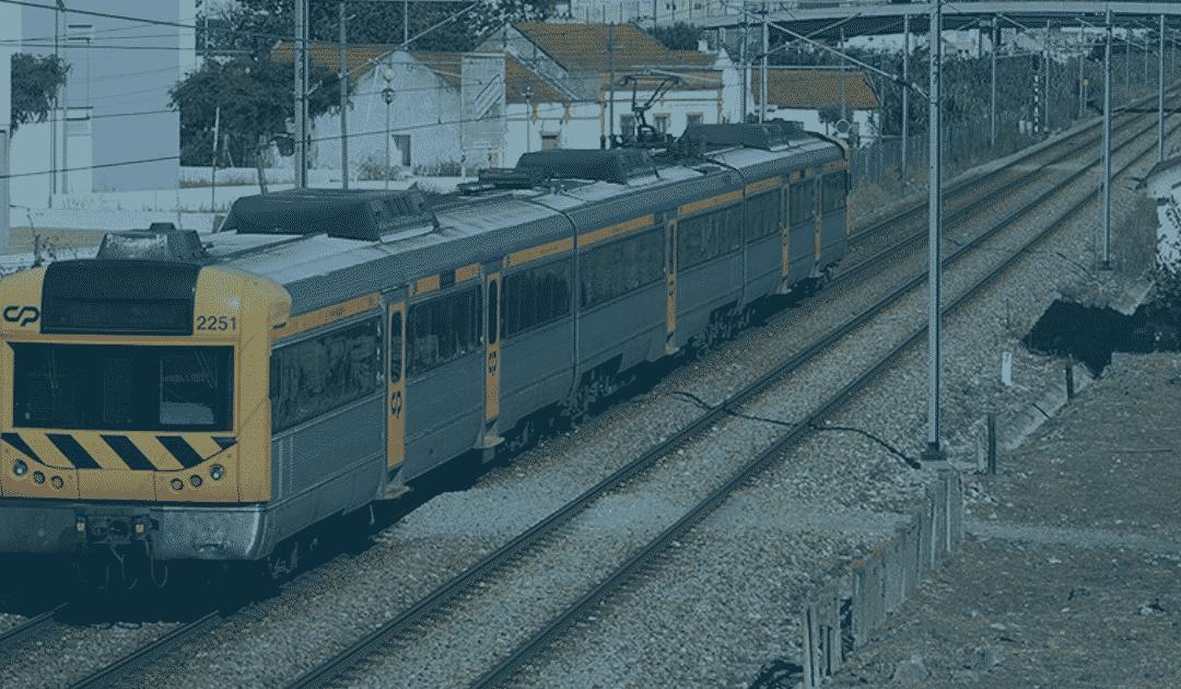 A triste sina da ferrovia portuguesa