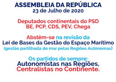 200728 - Centralistas no Continente