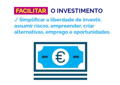 200818 - facilitar o investimento